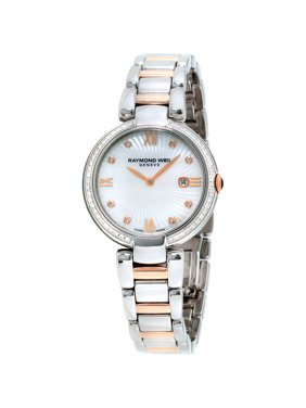 Raymond Weil Shine White Mother of Pearl Dial Ladies Watch 1600-SPS-00995