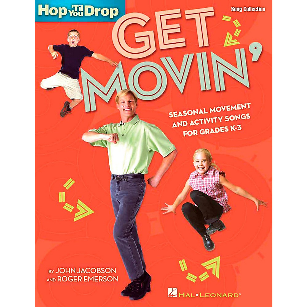 Hal Leonard Get Movin' - Seasonal Movement and Activity Songs for Grades K-3 Performance/Accompaniment CD