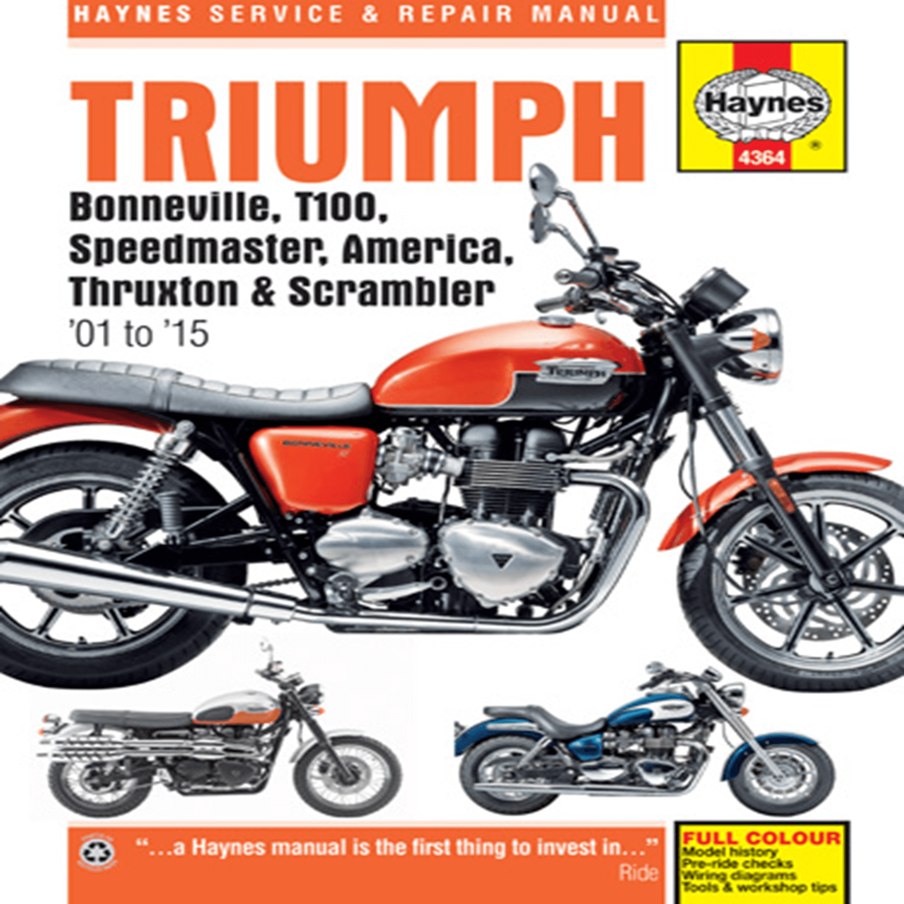 TRIUMPH , HAYNES MANUAL