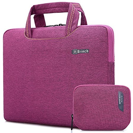 Brinch 15, 15.6Inch Waterproof Laptop Case Bag with Handle for Apple Macbook, Chromebook, Acer, Asus, Dell, Fujitsu, Lenovo,