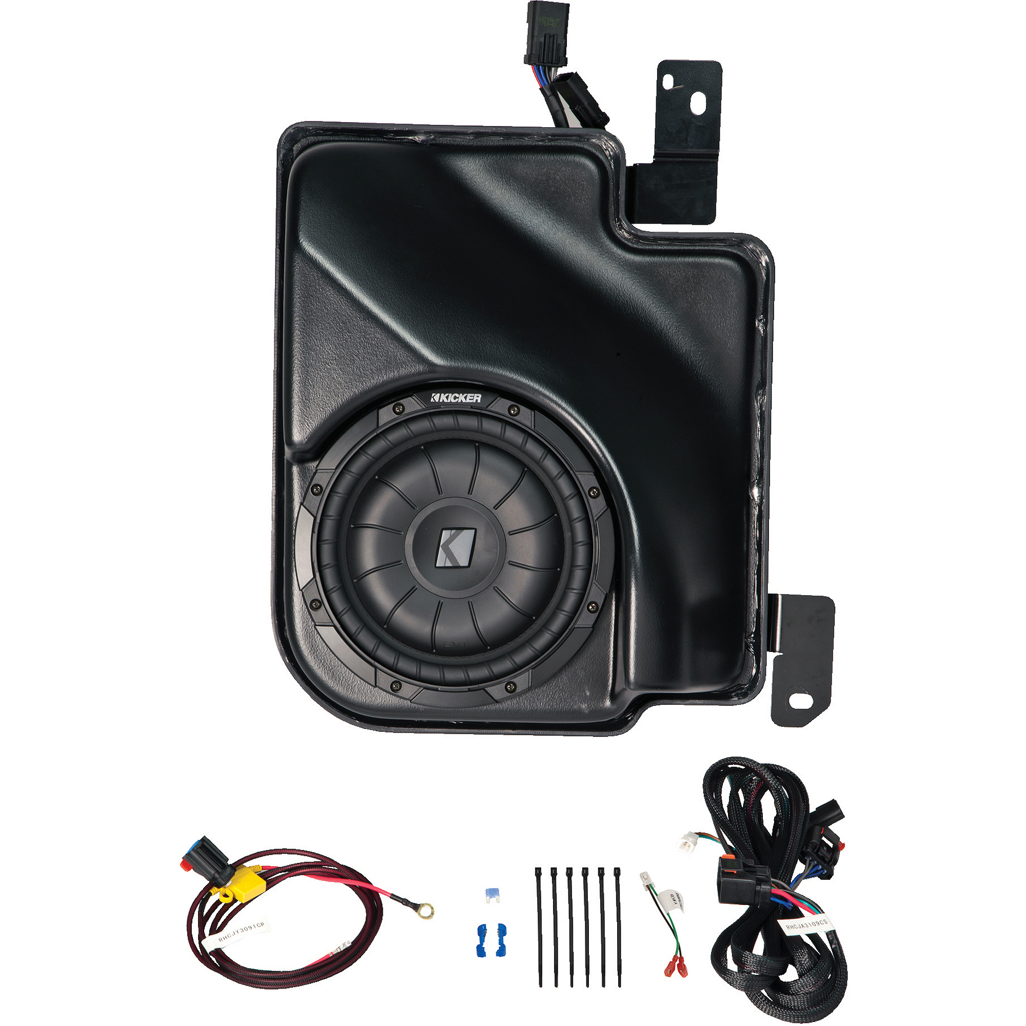 Kicker VSS SubStage Powered Subwoofer for 2014 Silverado/Sierra Extended Cab