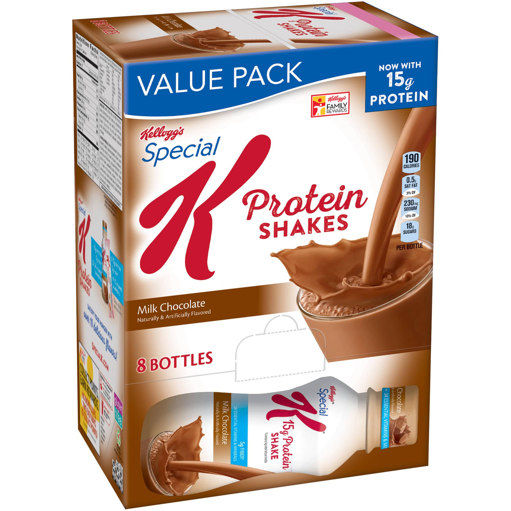 Kellogg's Special K Milk Chocolate Protein Shake, 10 oz, 8ct