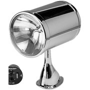 """Jabsco 62040-4002 7"""" Chrome Searchlight with Tall Base"""