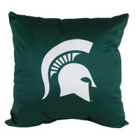 "NCAA 16"" x 16"" Decorative Pillow - 2 Colors, Unique Logos on Both Sides"