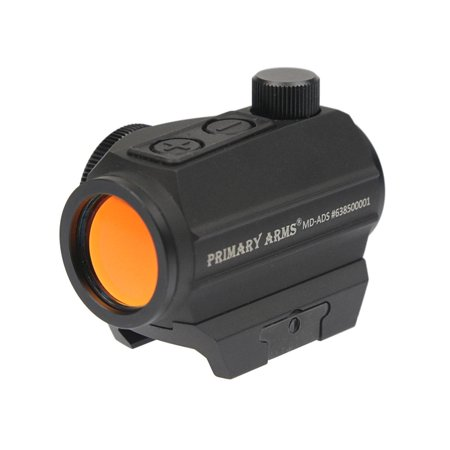 Primary Arms MD-ADS Advanced Micro Dot w/Push Buttons, 50K-Hour Battery (Throw Lever For Primary Arms 1 6)