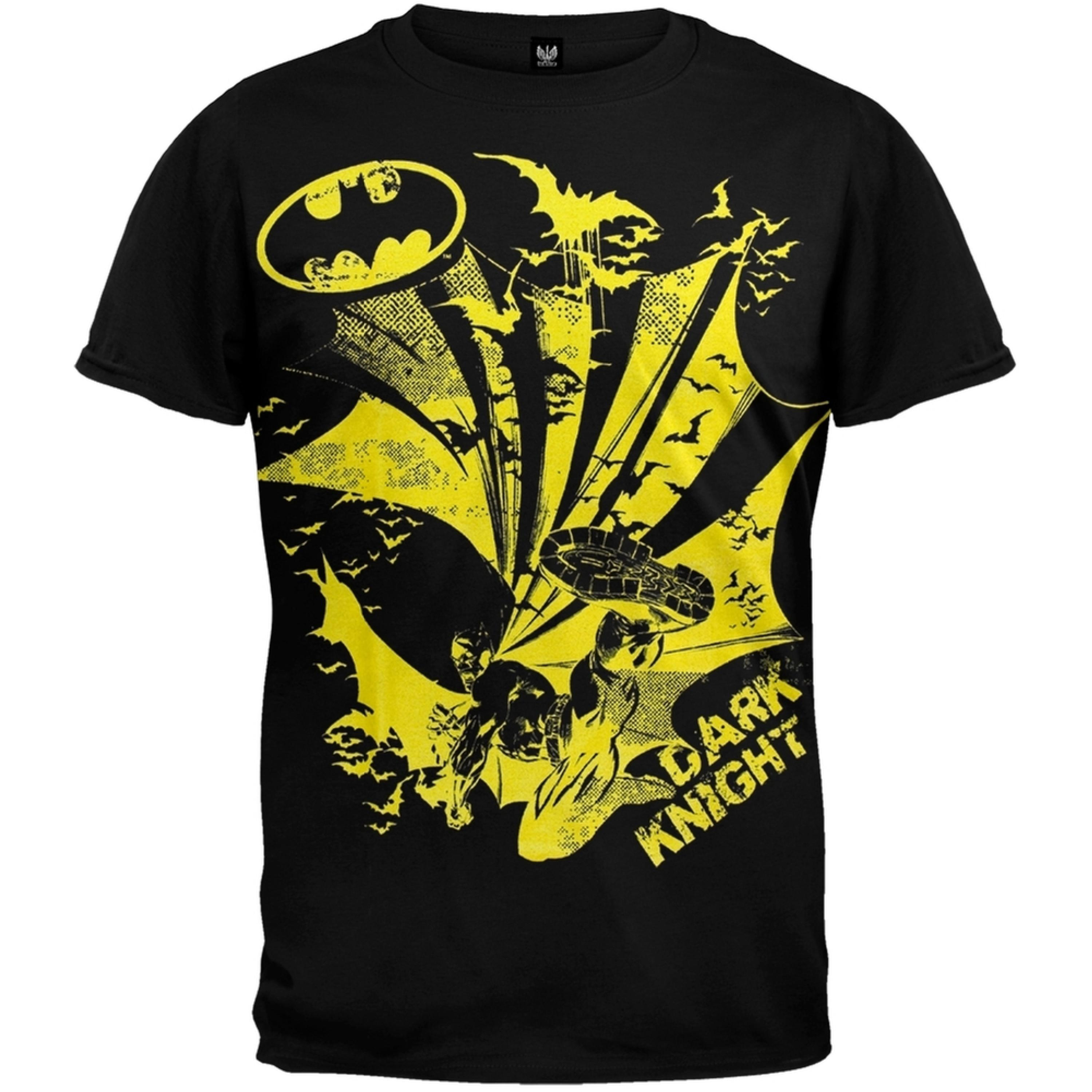 Batman - Dark Knight Kick Youth T-Shirt