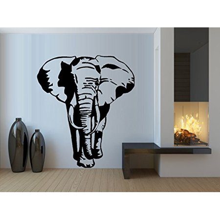 - ELEPHANT SILHOUETTE ~ WALL DECAL 21