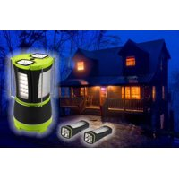 LED Multi-Function Camping Outdoor Fishing Light 2 Detachable Flash Lights