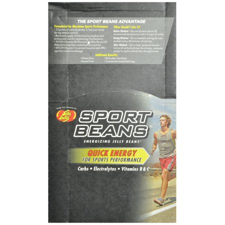 Jelly Belly Candy Jelly Belly Sport Beans Jelly Beans, 24 ea for $<!---->