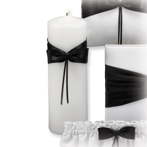 Black Lasting Radiance Unity Candle Ceremonial Item Cle Holder For Women