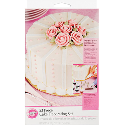 Wilton Cake Decorating Set, 53 pc. 2104-2546