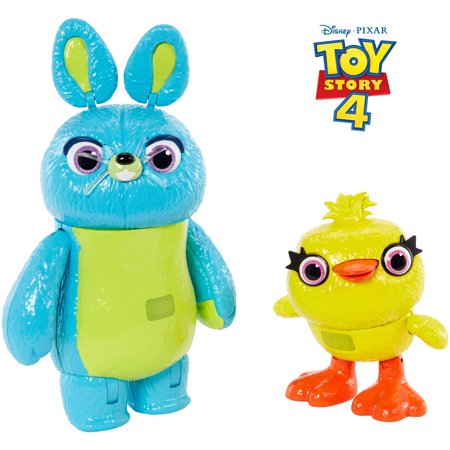 Disney Pixar Toy Story Interactive True Talkers Bunny and Ducky 2pk