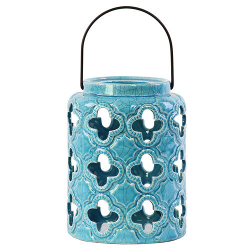Urban Trends Ceramic Lantern