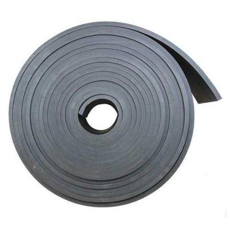 1515-1X12X10 Rubber, SBR, 1 Th x 12 In W, 10 Ft, Black