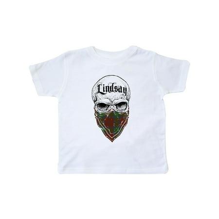Lindsay Tartan Bandit Toddler T-Shirt (Lindsay Tartan)
