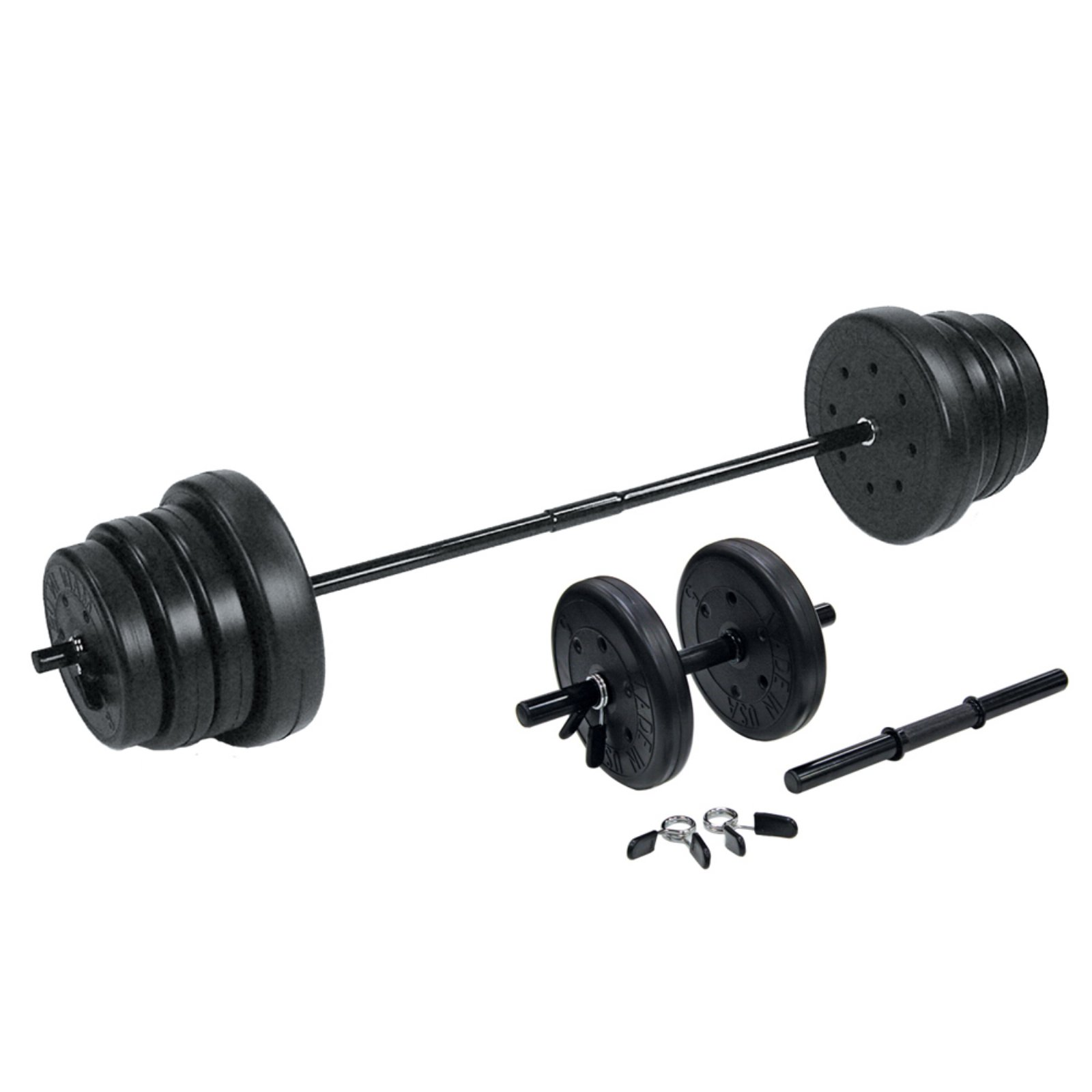 US Weights 105 lb Traditional Weight Set with Dumbbells