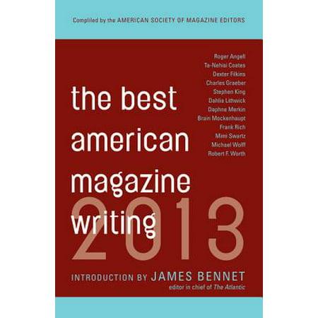 The Best American Magazine Writing 2013 - eBook