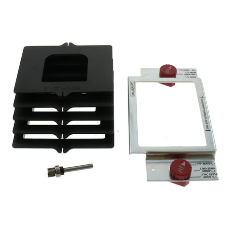 Router Hinge Jig (HingeMate 200 Ready To Use Drop-in Door Hinge Jig for Routers)