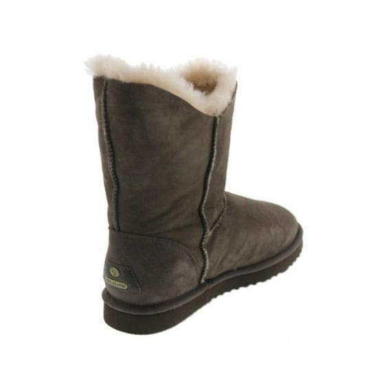 058a3704f2d Koolaburra Womens Double Halo Short Sheepskin Lined Ankle Boots
