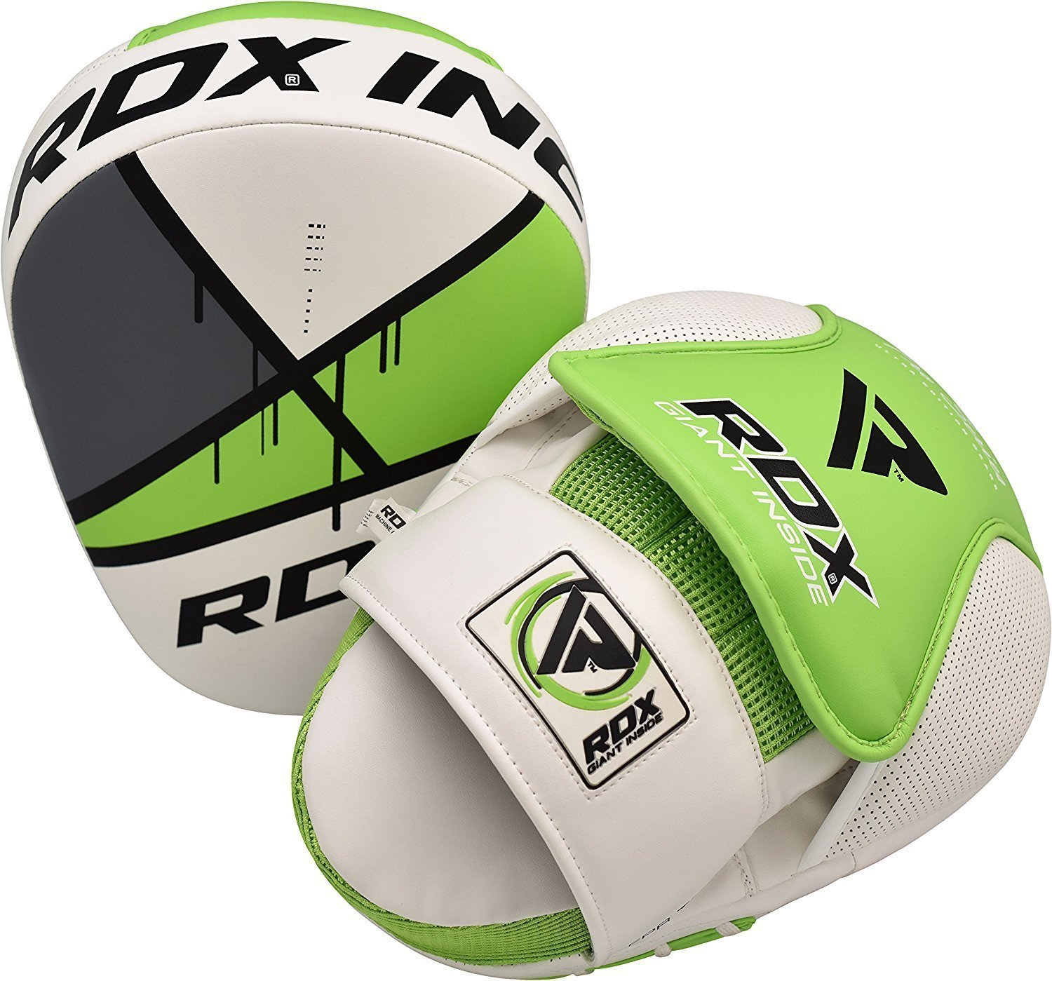 RDX Boxing Hook & Jab Pads Focus Punching Mitts MMA Target Thai Strike Kick Shield