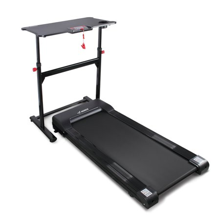 Freestanding Work Table (AKONZA Electric Tabletop Standing Desk Treadmill w/ Adjustable Height Table For Work and Fitness)