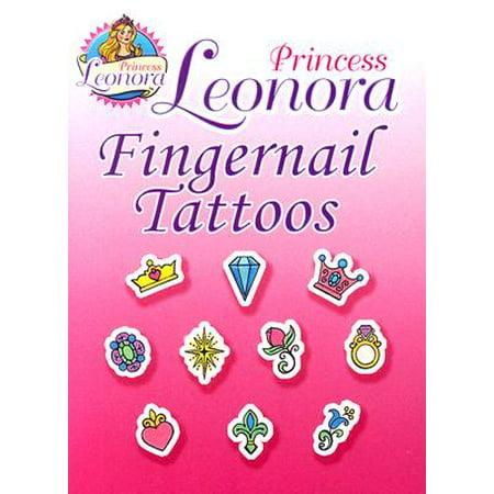 Princess Leonora Fingernail Tattoos - Tattoo Princess