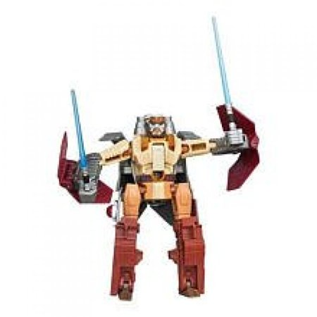 Star Wars 2012 Transformers Crossovers ObiWan Kenobi To Jedi Starfighter ()