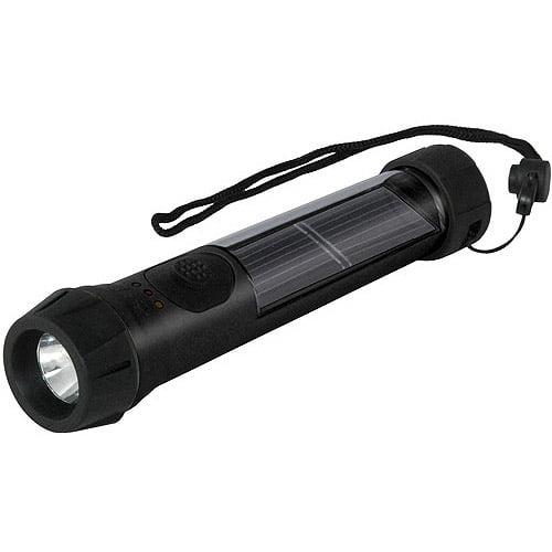 Hybrid Light Solar Hybrid Flashlight, 40 Lumens