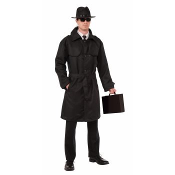 Detective Trench Coat Costume (SECRET AGENT TRENCH COAT-STD)