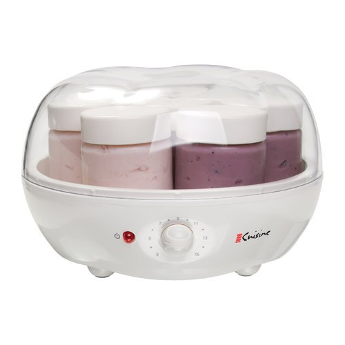 Euro cuisine automatic yogurt maker for Automatic yogurt maker by euro cuisine