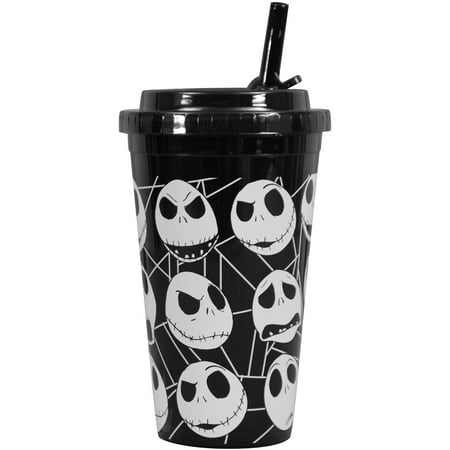 nightmare before christmas straw tumbler