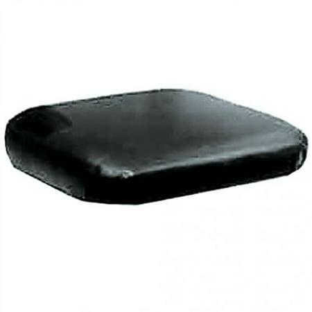Seat Cushion, Vinyl, Black, New, Case, A33317, A44793 ()