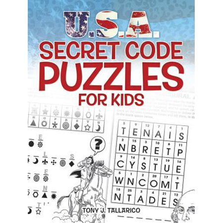 U.S.A. Secret Code Puzzles for Kids - The Cute Kid Promo Code