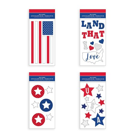 B-THERE Bundle of USA July 4 Decorations 5.5
