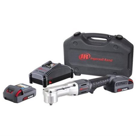 Ingersoll Rand W5330 K22 20v 0 375 In Right Angle Impact Wrench Kit Image