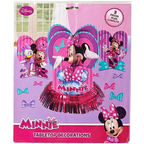 Minnie Mouse BowTique Table Decorations Walmartcom