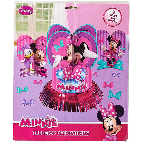 Minnie Mouse Bow Tique Table Decorations