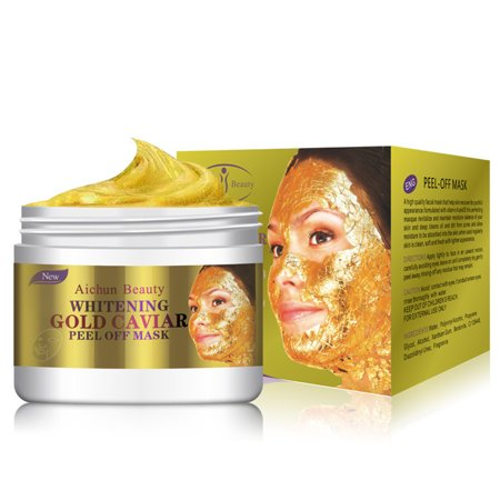 24K Gold Collagen Peel Off Facial Mask Face Skin Moisturizing Firming Anti (Best At Home Facial Peels For Aging Skin)