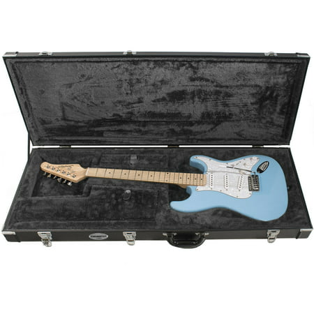 chromacast pro series strat and tele body style electric guitar hard case. Black Bedroom Furniture Sets. Home Design Ideas
