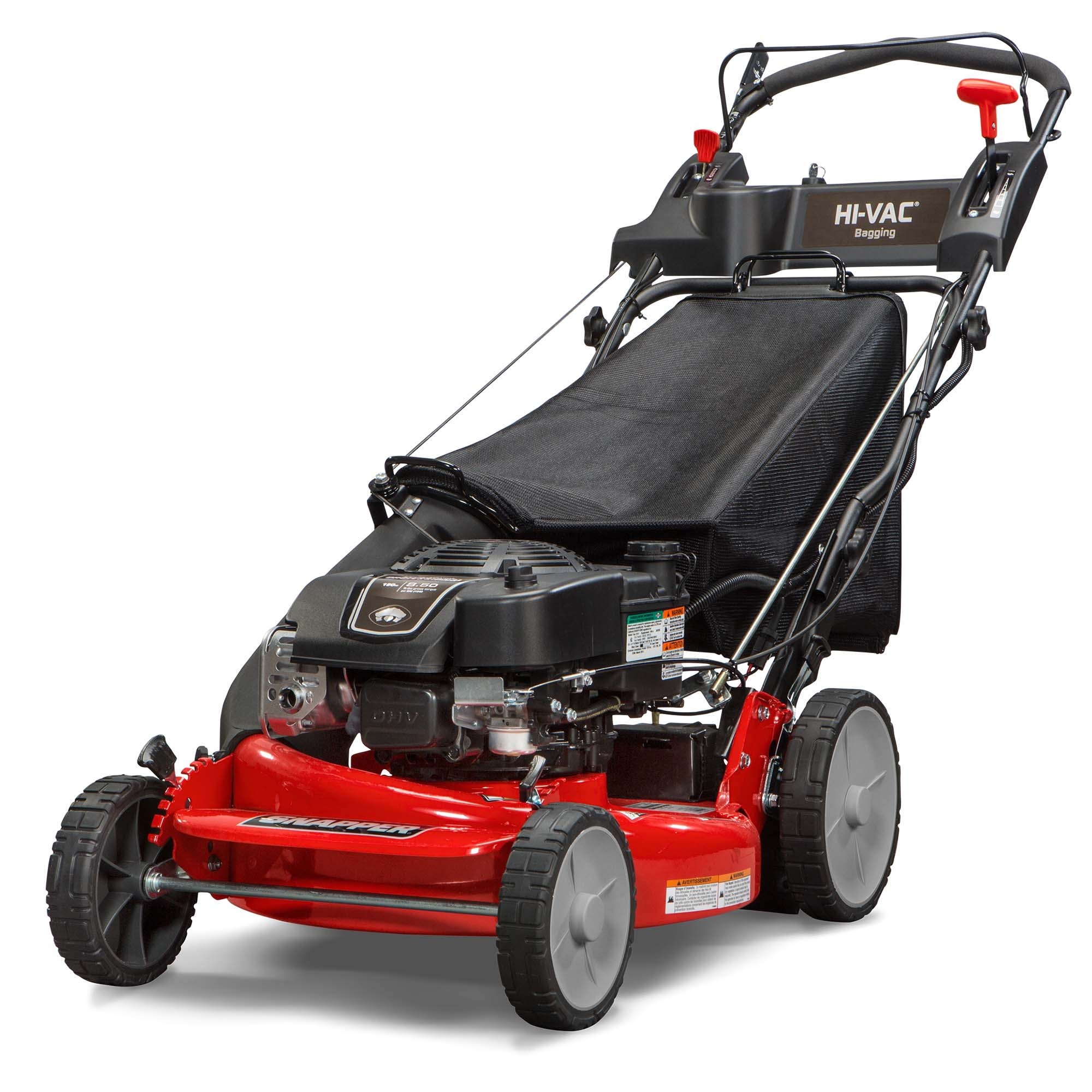 Snapper HI VAC 21 in. Self Propelled Electric Start Bag Lawn Mower | MOW-7800982 by Snapper