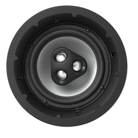 NHT iC4-ARC 2-Way 8-inch In-Ceiling Speaker with Aluminum Driver, 150 Watts (Matte White, Single)