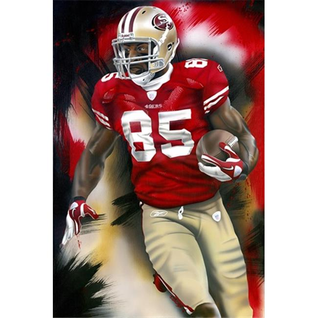 Deacon Jones Foundation JJ-05R Beast Art Print, by Joshua Jacobs - Rolled