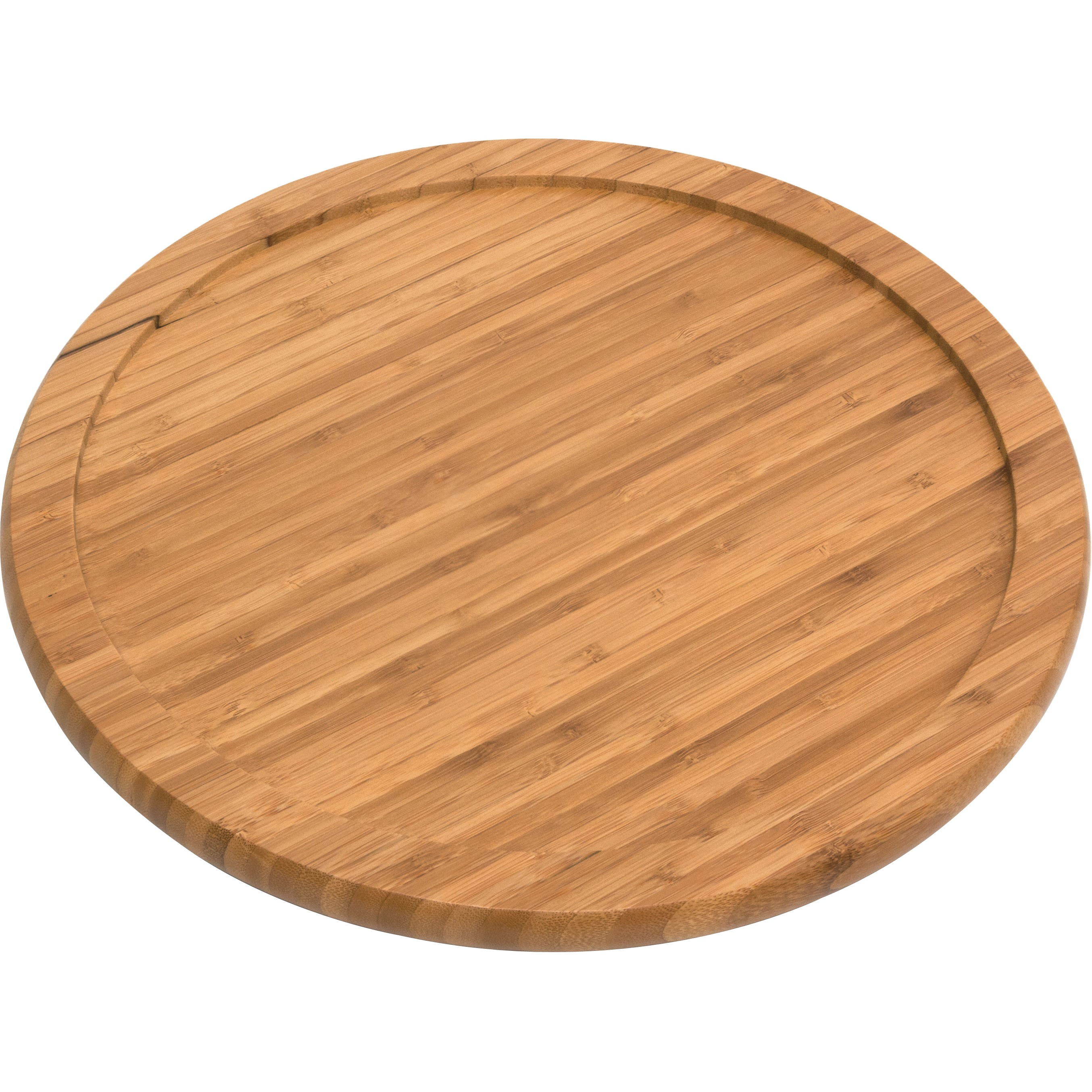 Lipper International Bamboo 14-Inch Turntable