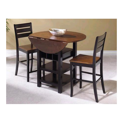 Sunset Trading Quincy 3 Piece Pub Table Set