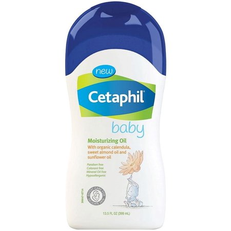 Cetaphil Baby Moisturizing Oil With Organic Calendula