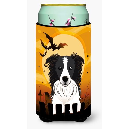 Halloween Border Collie Tall Boy Beverage Insulator Hugger BB1799TBC](Halloween Border Page)