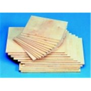 School Specialty American Easel Baltic Birch Veneer Smooth Block Printing Panel - 8 x 12 x 0.25 in. - Pack 12