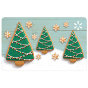 Ginger Cookie Forest Walmart eGift Card