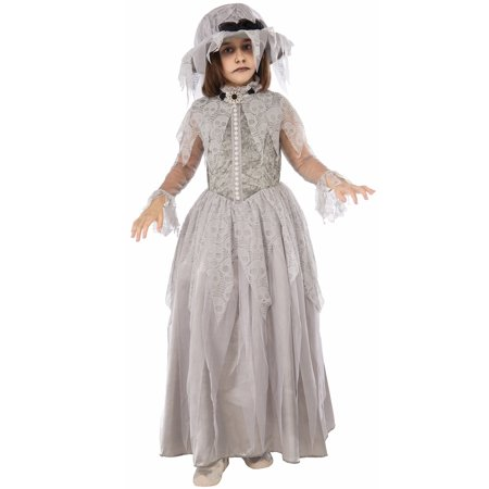 Victorian Ghost Child Costume (Small) - Victorians Costumes