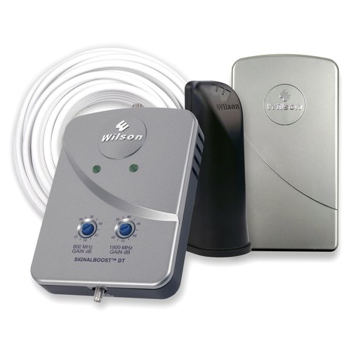 Wilson Electronics 801247 Desktop Dual-Band (800/1900 MHz) Cell Phone Signal Booster Kit